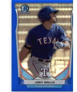 2014 Bowman Draft Chrome Top Prospects Blue Refractor #CTP-80 Joey Gallo... - $6.00