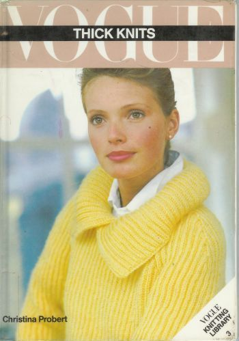 Vogue Thick Knits 25 Knitting Clothing Patterns 1934 to 1980 Knit Sweaters Dress