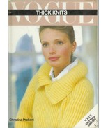 Vogue Thick Knits 25 Knitting Clothing Patterns 1934 to 1980 Knit Sweate... - $9.93