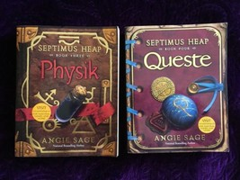 Septimus Heap Book Series By Angie Sage- Paperback- Queste- Physik- Preo... - $7.91
