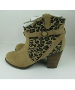 AEO American Eagle Outfiters Womens Ankle Boots Size 9.5M Block Heels Ta... - $23.36