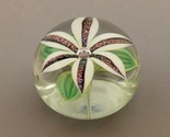 Orientandflume paperweight dichroic lily white thumb155 crop