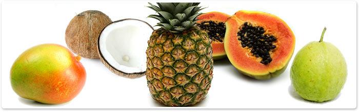 10 Tropical Fruit Skin Bath Fizzy Powder Bomb Melt Handmade Berrysweetstuff.com