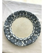 "Blue on White Transferware Wedgwood Arabian Semi-Porcelain Plate 10.5"" - $25.49"
