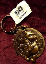 Giggling & Cuddly Winnie The Pooh Old 1980s Keychain - $17.99
