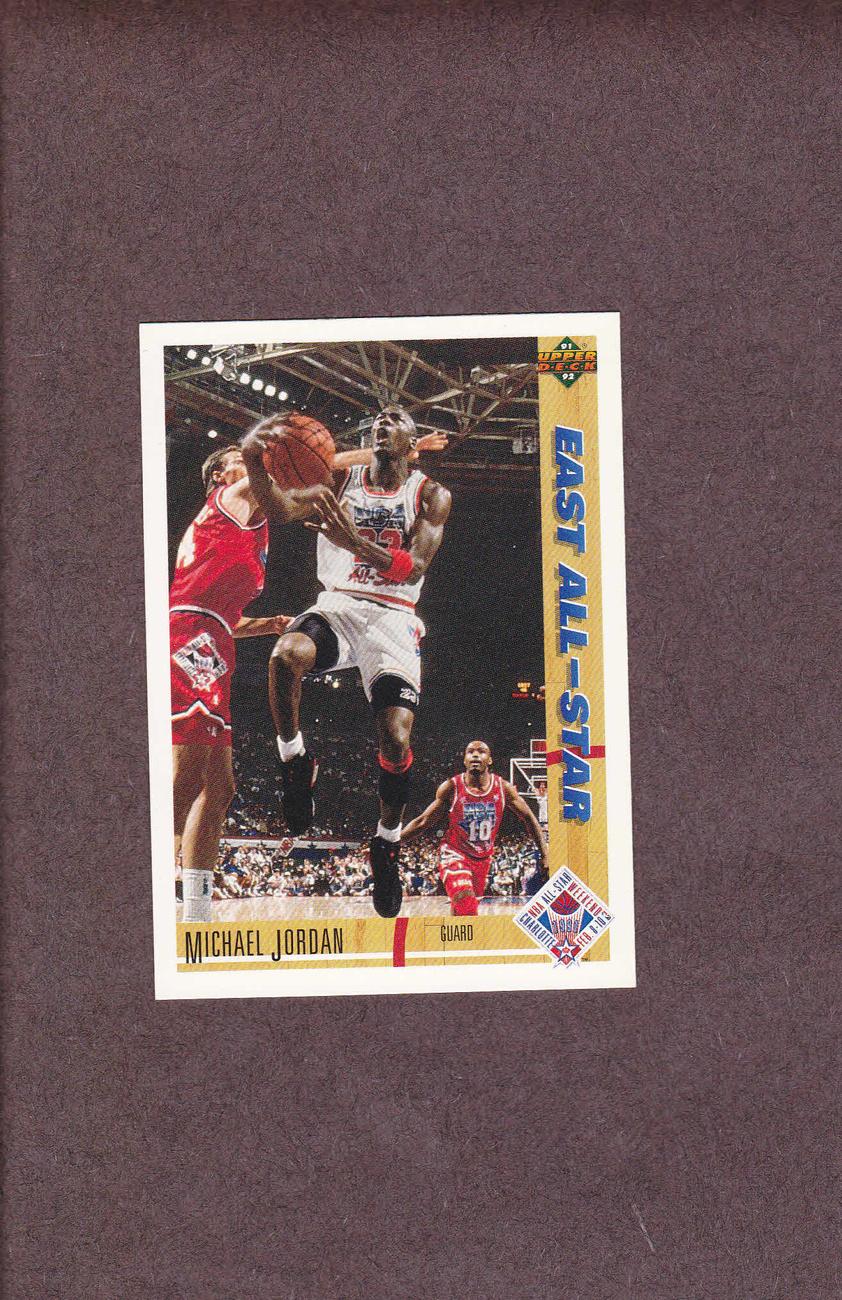1991-92 Upper Deck # 69 Michael Jordan Chicago Bulls