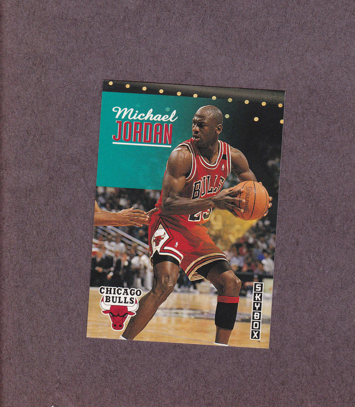 1992-93 Skybox # 31 Michael Jordan Chicago Bulls NM