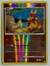 Magmar 54/123 Reverse Holographic Pokemon Card Mysterious Treasures Set ... - $2.54