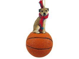 Border Terrier Basketball Ornament - $17.99
