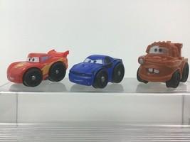 Fisher Price Wheelies Cars 2 Lightning McQueen Tow Mater Rod Redline Dis... - $16.88
