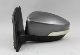 12 13 14 Ford Focus Left Driver Side Gray Power Door Mirror W/ Turn Signal Oem - $108.89