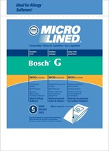 Bosch G BO-14000 471437 Micro Allergen Vacuum Cleaner Bags by DVC Made i... - $7.27+