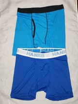 Boys lot of 2 boxer brief tagless blue  XL - $10.99