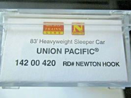 Micro-Trains #14200420 Union Pacific 83' Heavyweight Sleeper Car N-Scale image 6