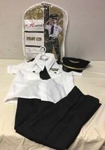 Deluxe Childrens Pilot Costume Medium 8-10 - $27.58