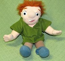 "1995 Disney HUNCHBACK 15"" Plush DOLL Mattel Stuffed Notre Dame Toy Boy C... - $24.75"