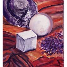Opening Up, An Original Still lIfe Oil Painting - $200.00