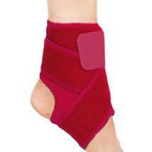 LUNA 1 Pair Ankle Support Breathable Ankle Brace Protective (Red, M) - $18.42