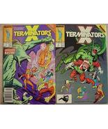 2 X TERMINATORS Marvel Comics pages of X-Factor Inferno - $3.00