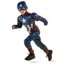 New Disney Store Little Boys Captain America Costume Sz 7/8 - $49.99