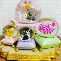 Disney Store Snowglobe I Love My Disney Cat Figaro From Japan - $163.76