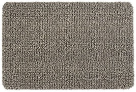 "GrassWorx Clean Machine Flair Doormat, 24"" x 36"", Earth Taupe 10372034 - $33.89"