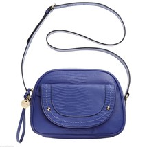 Juicy Couture Sierra Iris Lizard Leather Mod Satchel Crossbody Bag YHRU3850 - $119.50