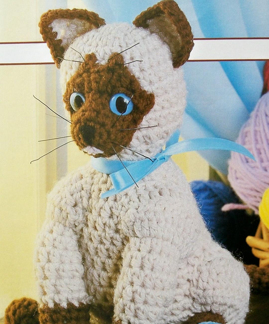 Siamese Cat Crochet Pattern Free