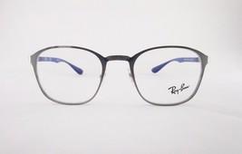 RayBan RB6357 Optical Frame Metallic Square Blue Eyeglasses - $55.90