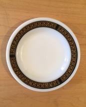 Pair of vintage 70s Pyrex Ebony pattern Bread Plates image 2