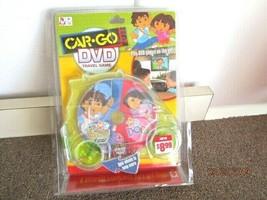 Mattel Dora & Diego Car Go DVD Game Perfect for Travel NIB - $9.46