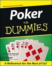 Poker For Dummies - $10.89