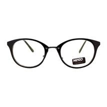 Nerd Eyewear Clear Lens Glasses Womens Round Oval Fashion Eyeglasses - $9.95