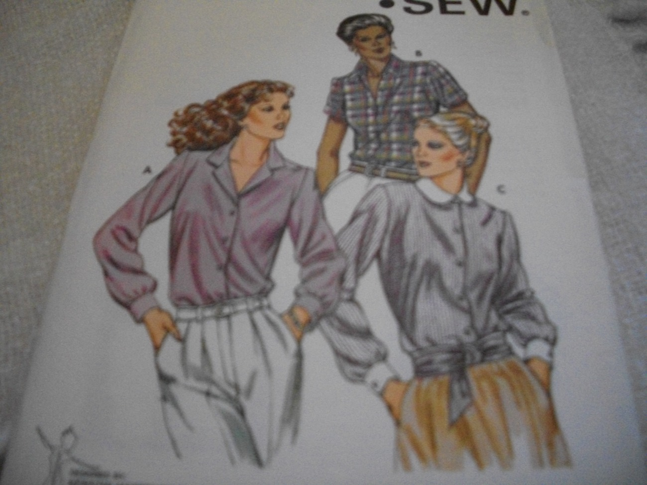 Primary image for Misses' Blouse Pattern Kwik Sew 1199