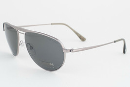 Tom Ford William Silver Gunmetal / Green Polarized Sunglasses TF207 14R - $322.42