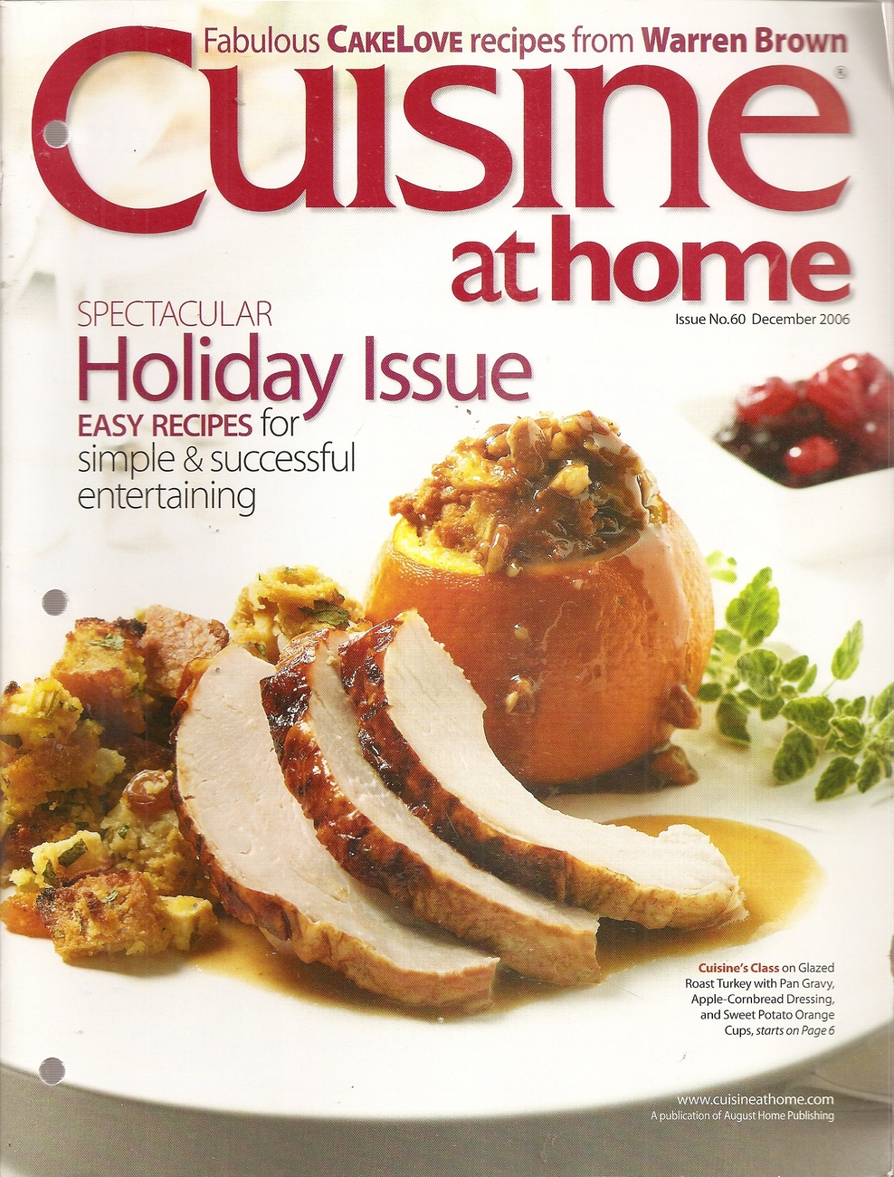 Primary image for CUISINE AT HOME DECEMBER 2006