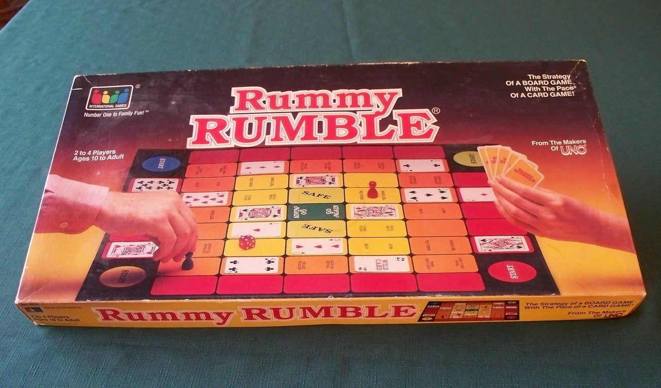 Primary image for Rummy Rumble By International  Games 1986  Complete VGC