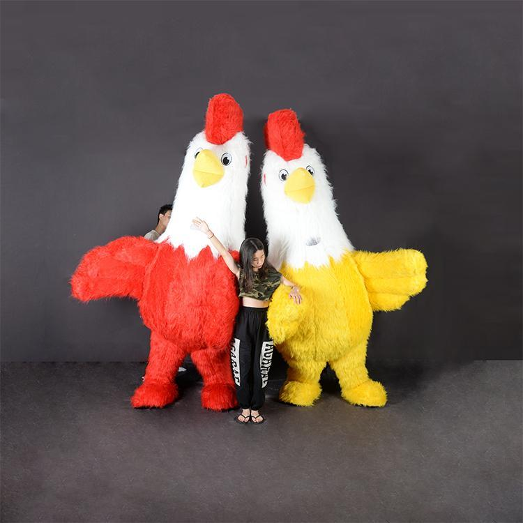 chicken inflatable costume mascot cosplay for adult party derss