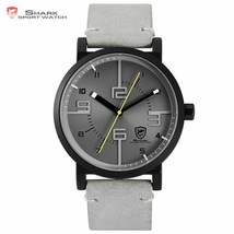 Bahamas Saw SHARK Sport Watch Grey Relogio Masculino Simple 3D Special L... - $51.73 CAD