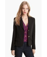 $395 Brown TORY BURCH Beverly Jacket Blazer Career Work NWT Large - $69.29