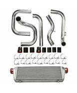 For 2.5'' Inlet Pipe Civic Integra Bolt on Turbo Front Mount Intercooler... - $154.97