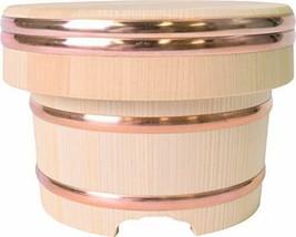 *[For 3 Go] Kiso crafts wooden Ohitsu Edo type Kiso Spanish mackerel - $138.02