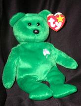 TY BEST OFFER ERIN TEDDY BEAR TY BEANIE BABY 1997 RETIRED BEST OFFER  - $24.99