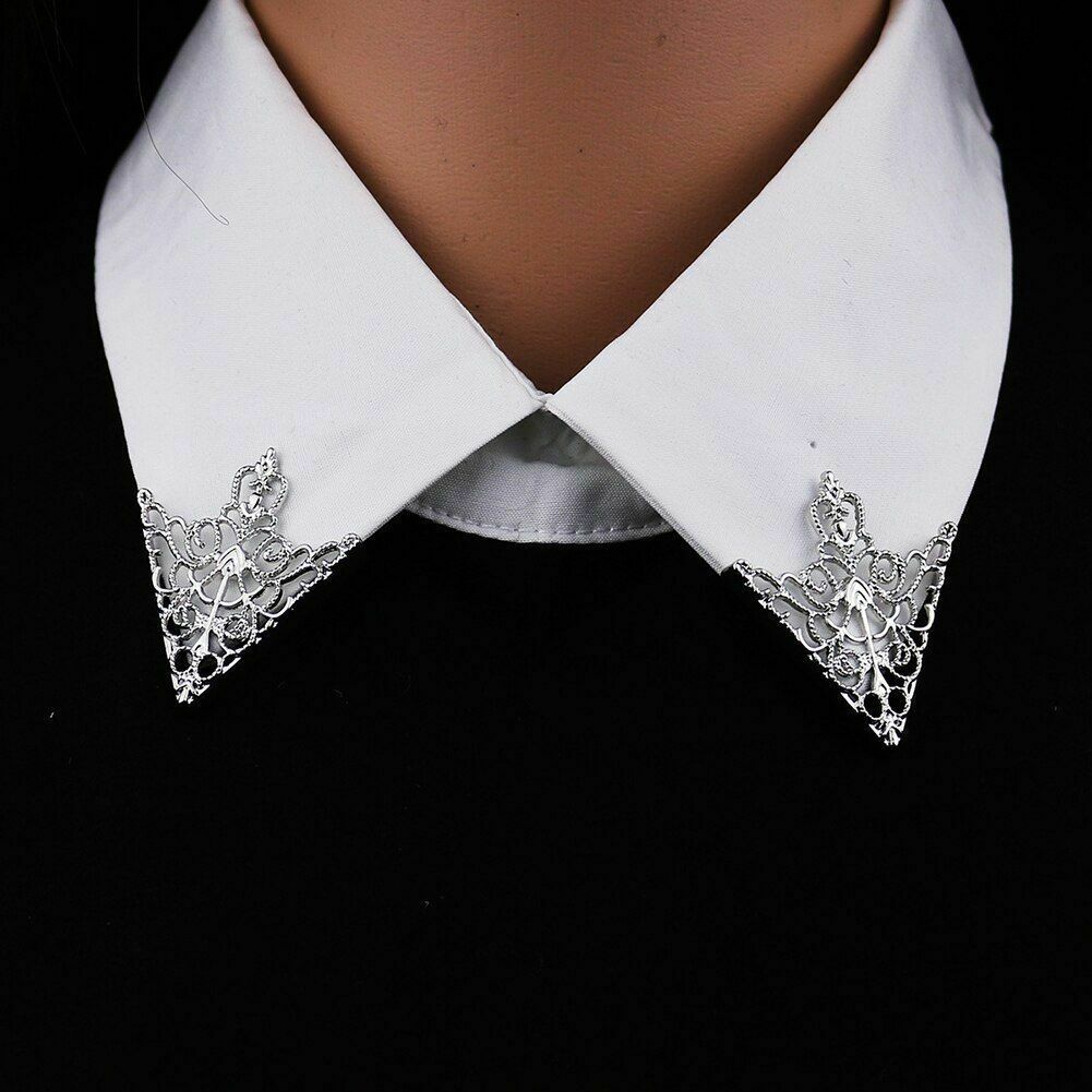 Unisex Brooch Pin Fashion Hollow Geometric Flower Suit Tie Hat Scarf Badges Prom image 7
