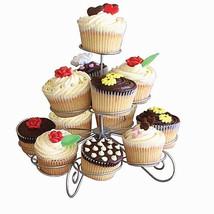Cupcake Stand 3 Tier Wire Dessert Tower Muffin Holder Serving Decorating... - $12.64