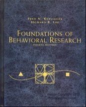 Foundations of Behavioral Research (PSY 200 (300) Quantitative Methods i... - $40.25