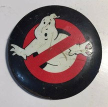 Ghostbusters Logo VINTAGE BUTTON PIN GHOST BUSTER HALLOWEEN 80'S MOVIE M... - $5.86