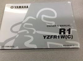 2007 Yamaha R1 YZFR1W (C) Owners Operators Owner Manual LIT116262053 FAC... - $54.44