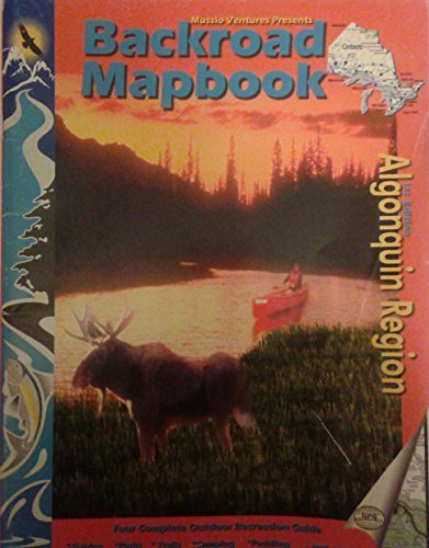 Algonquin Area (Backroad Map) Mussio, Russell and Mussio, Wesley