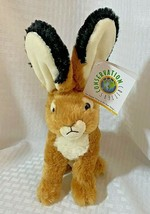 Jack Rabbit Plush Stuffed Toy Conservation Critters Wildlife Artists NEW - $9.99